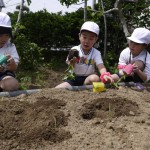 梨花幼稚園で食育