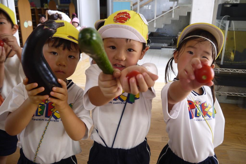梨花幼稚園の食育1