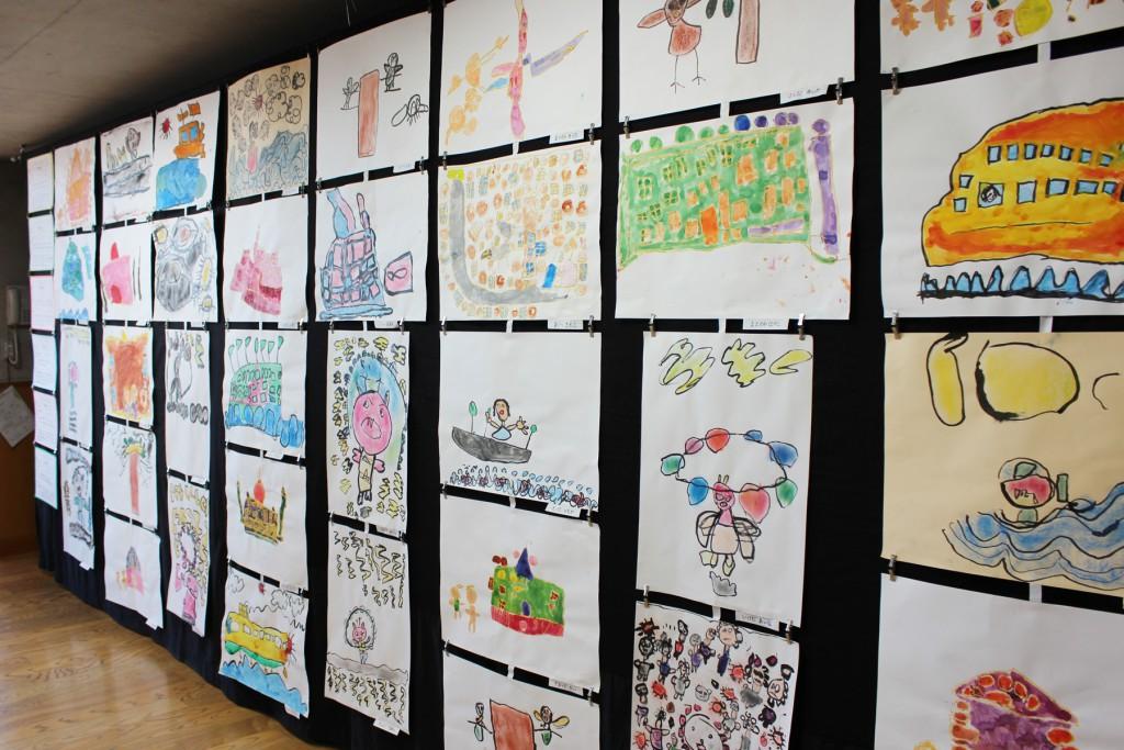梨花幼稚園の造形活動